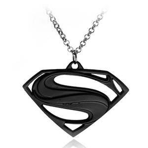Superman Logo Necklace