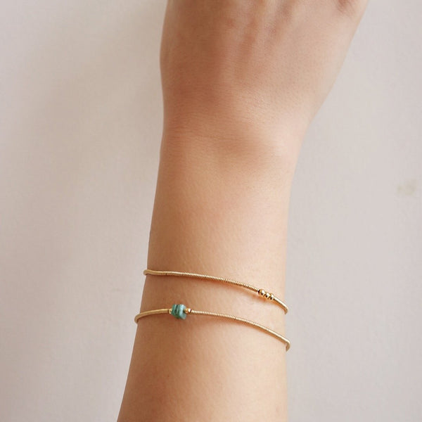 Makena Twist Bracelet Gold