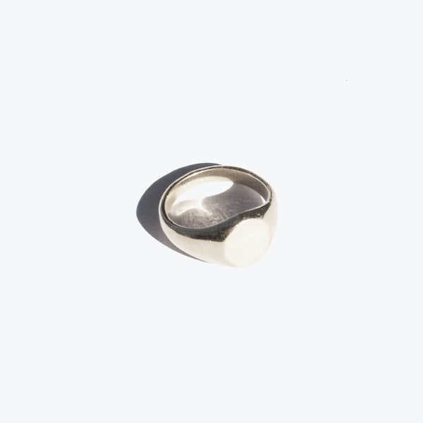Classic Signet Ring Silver