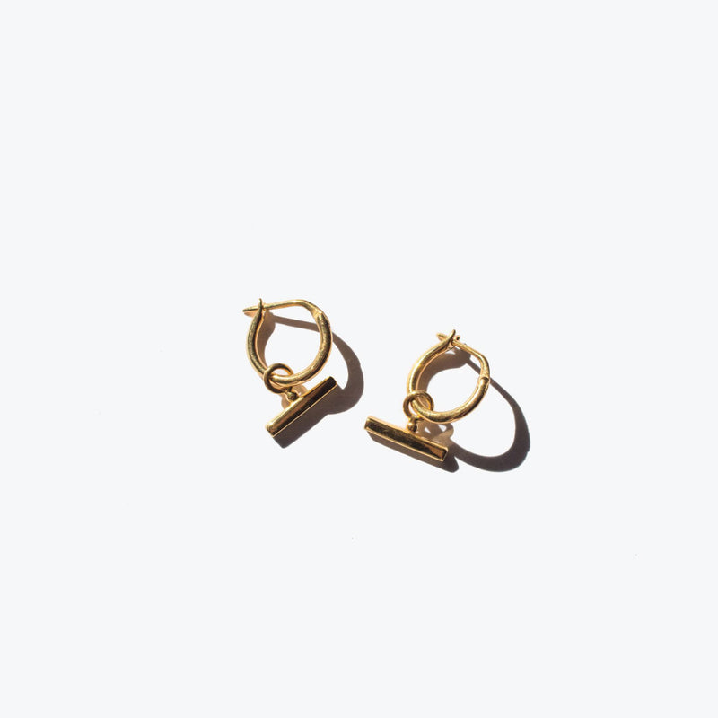 Chloe Sleeper Hoops Gold