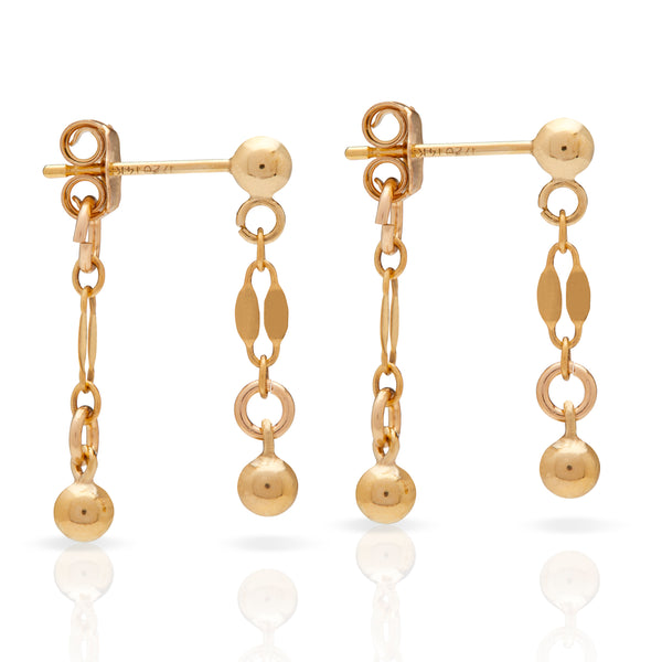 Petite Grand Ball Little Drop Earrings
