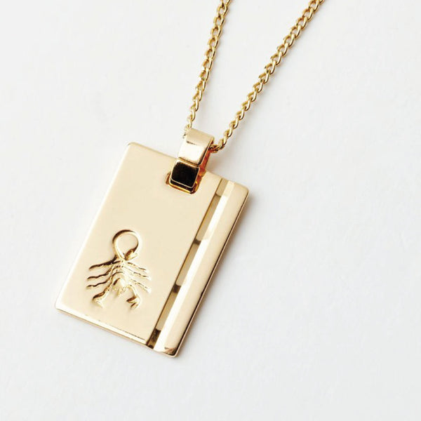 Star Sign Necklace Scorpio