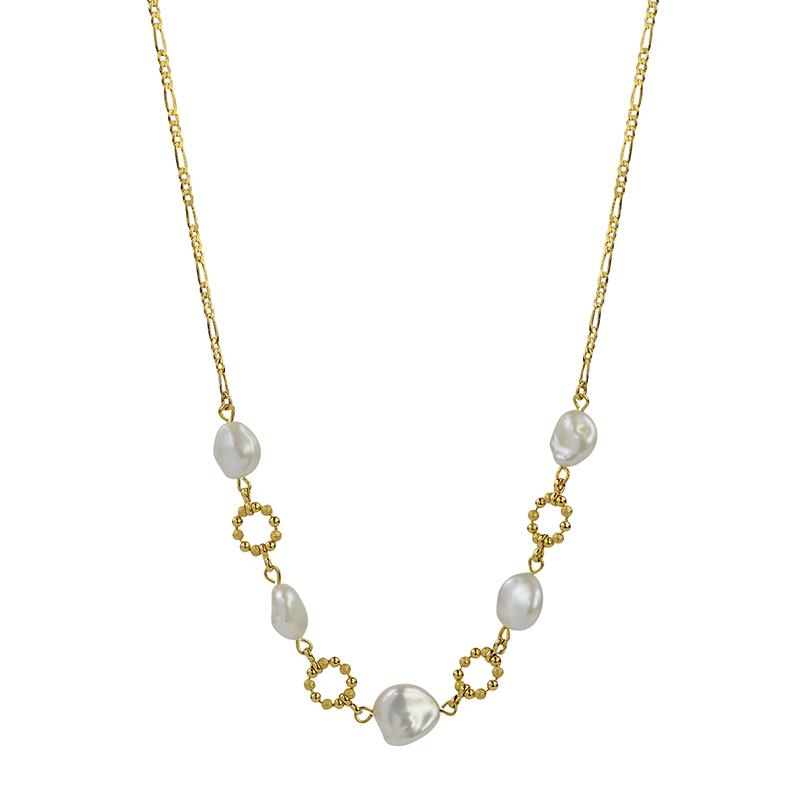 Lola Pearl Chain Necklace