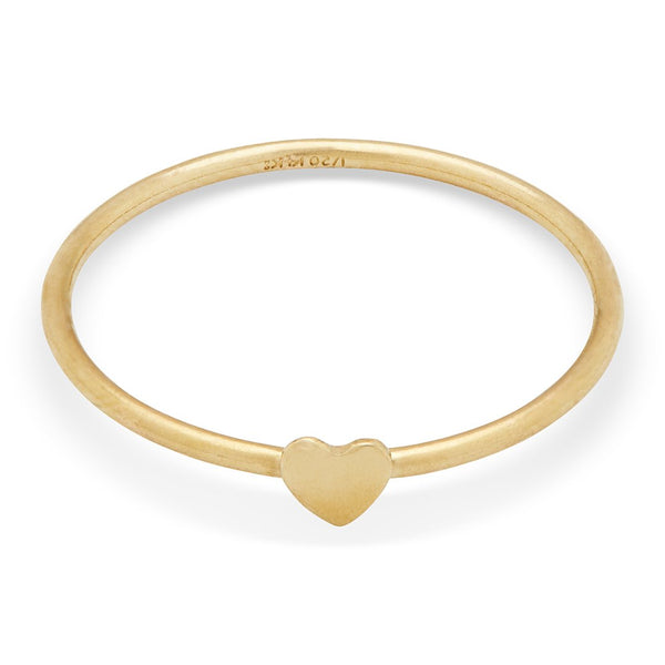 Petite Grand Single Heart Ring