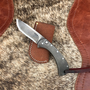 Steel Drop Point Switchblade