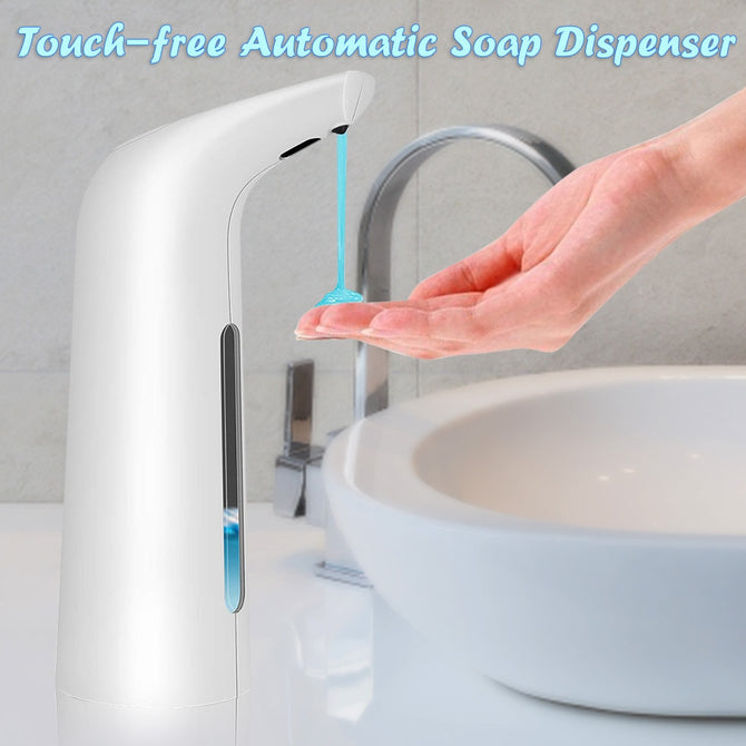 400ml Automatic Soap Dispenser for Office, Sanitize Soap Dispenser for Washing Hand