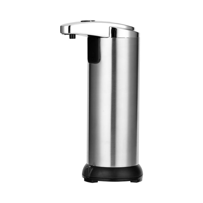 250ML Stainless Steel Soap Dispenser IR Sensor Touchless Waterproof Automatic Liquid Soap Dispenser for Kitchen Bathroom Home