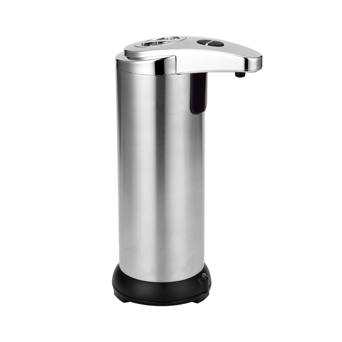 Automatic Soap Dispenser Pump Infrared Sensing Stainless Steel Liquid Soap Holder Shampoo Dispenser Bathroom Liquid Foam Pump