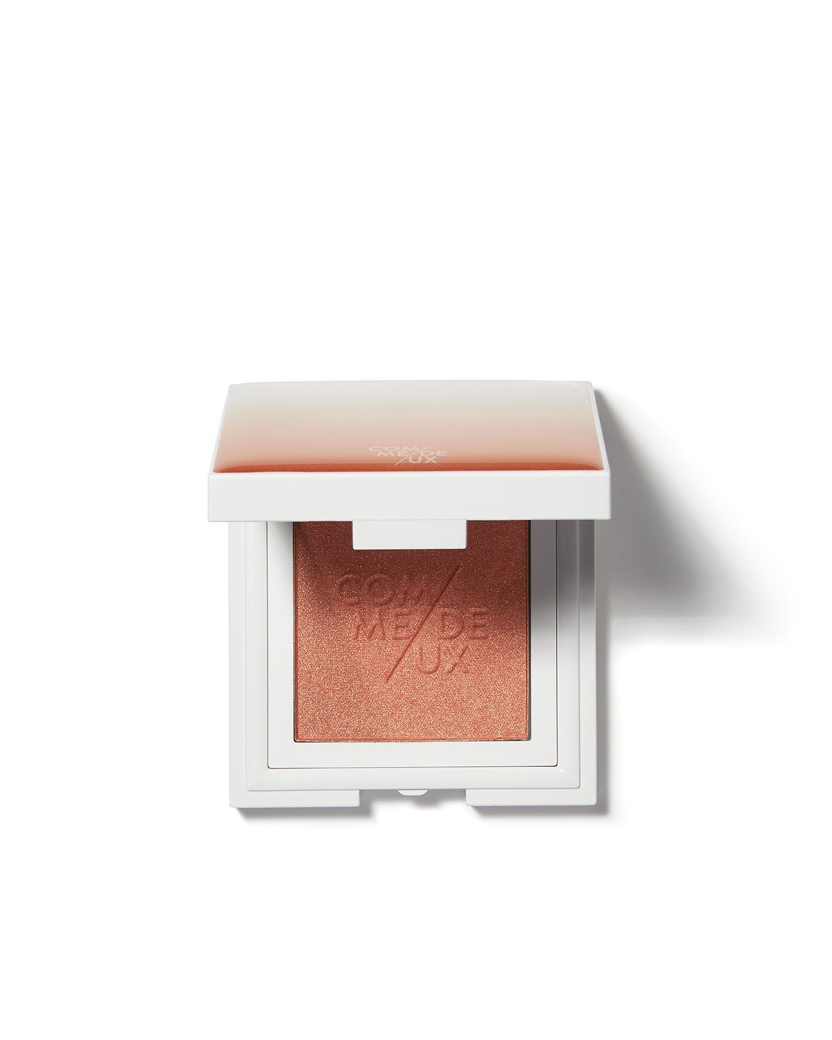 peach blush blushup