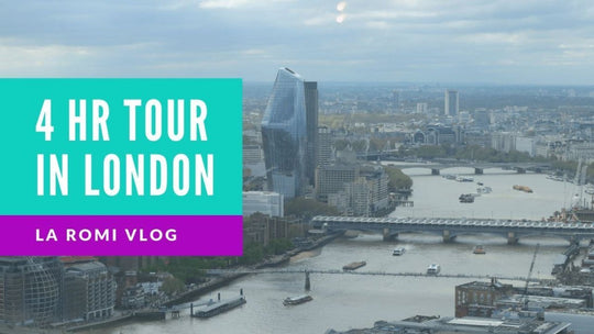 Where to go If you only have 4 hours in London | La Romi | Baby Fashion