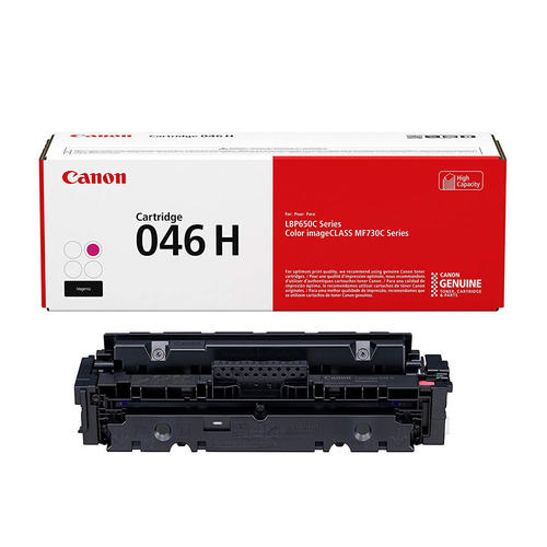 OEM Canon 046H, 1252C001 Toner Cartridge Magenta - High Yield - 5K