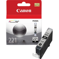 OEM Canon CLI-221BK, 2946B001 Ink Cartridge - Black - 342 Pages