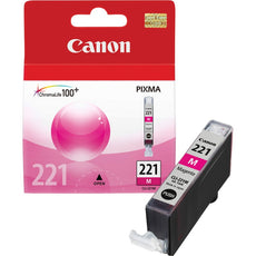 OEM Canon CLI-221M, 2948B001 Ink Cartridge - Magenta - 530 Pages