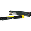 OEM Lexmark X950X2YG Toner Cartridge - Yellow - 22,000 Yield (High Yield)