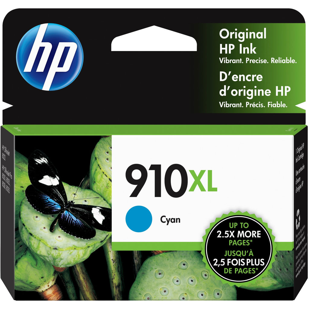 OEM HP 3YL62AN , 910XL Ink Cartridge - Cyan - Inkjet - High Yield - 825 Pages