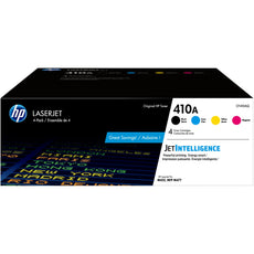 OEM HP 410A, CF410AQ  4 Pack Toner Cartridges Black, Cyan, Magenta, Yellow - 2,300 Yield