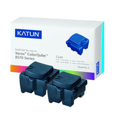 Compatible Xerox 108R00926 Solid Ink For ColorQube 8570, 8580 Cyan (KATUN) - 2 Sticks
