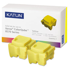 Compatible Xerox 108R00928 Solid Ink For ColorQube 8570, 8580 Yellow (Katun) - 2 Sticks