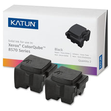 Compatible Xerox 108R00929 Solid Ink For ColorQube 8570, 8580 Black (Katun) - 2 Sticks