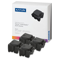 Compatible Xerox 108R00930 Solid Ink For ColorQube 8570, 8580 Black (Katun) - 4 Sticks