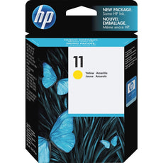 OEM HP 11, C4838A Ink Cartridge - Yellow - 2,550 Pages