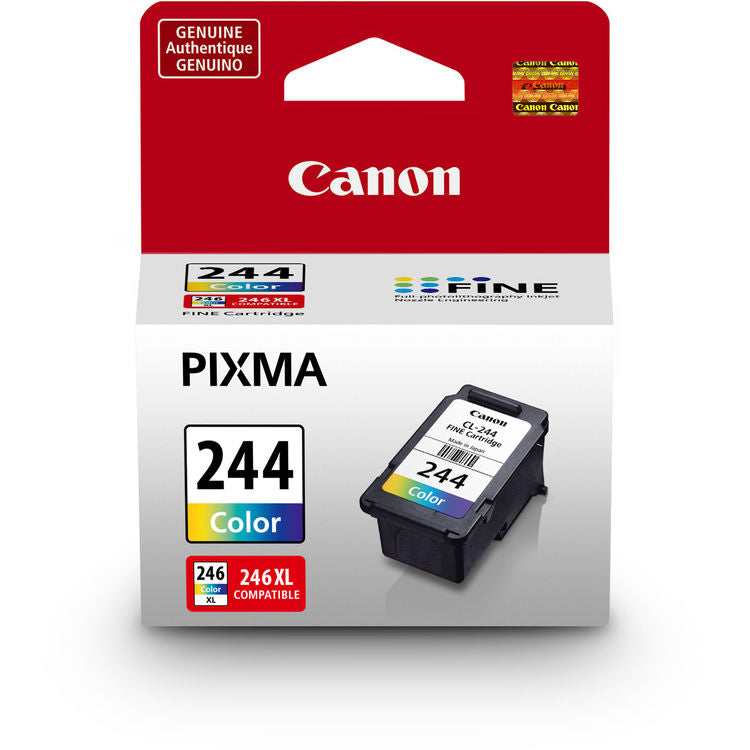 OEM Canon 1288C001, CL-244, CL244 In Cartridge - Tri-Color