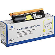 Konica Minolta 1710587-005 OEM Toner Cartridge For MagiColor 2400W Yellow - 4.5K