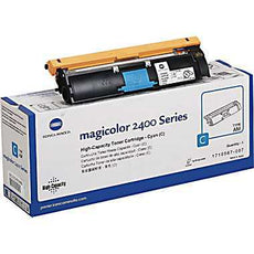 Konica Minolta 1710587-007 OEM Toner Cartridge For MagiColor 2400W Cyan - 4.5K