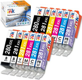 StarInk Compatible Canon PGI-280XXL, CLI-281XXL Ink Cartridges (B,PB, C, Y, M, PC) 2 x Value Pack
