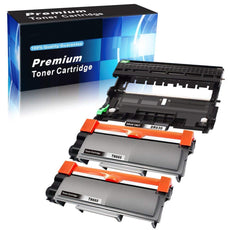 Combo Set Brother TN660 X 2 Toner & DR630 X 1 Drum Compatible with HL-L2340D