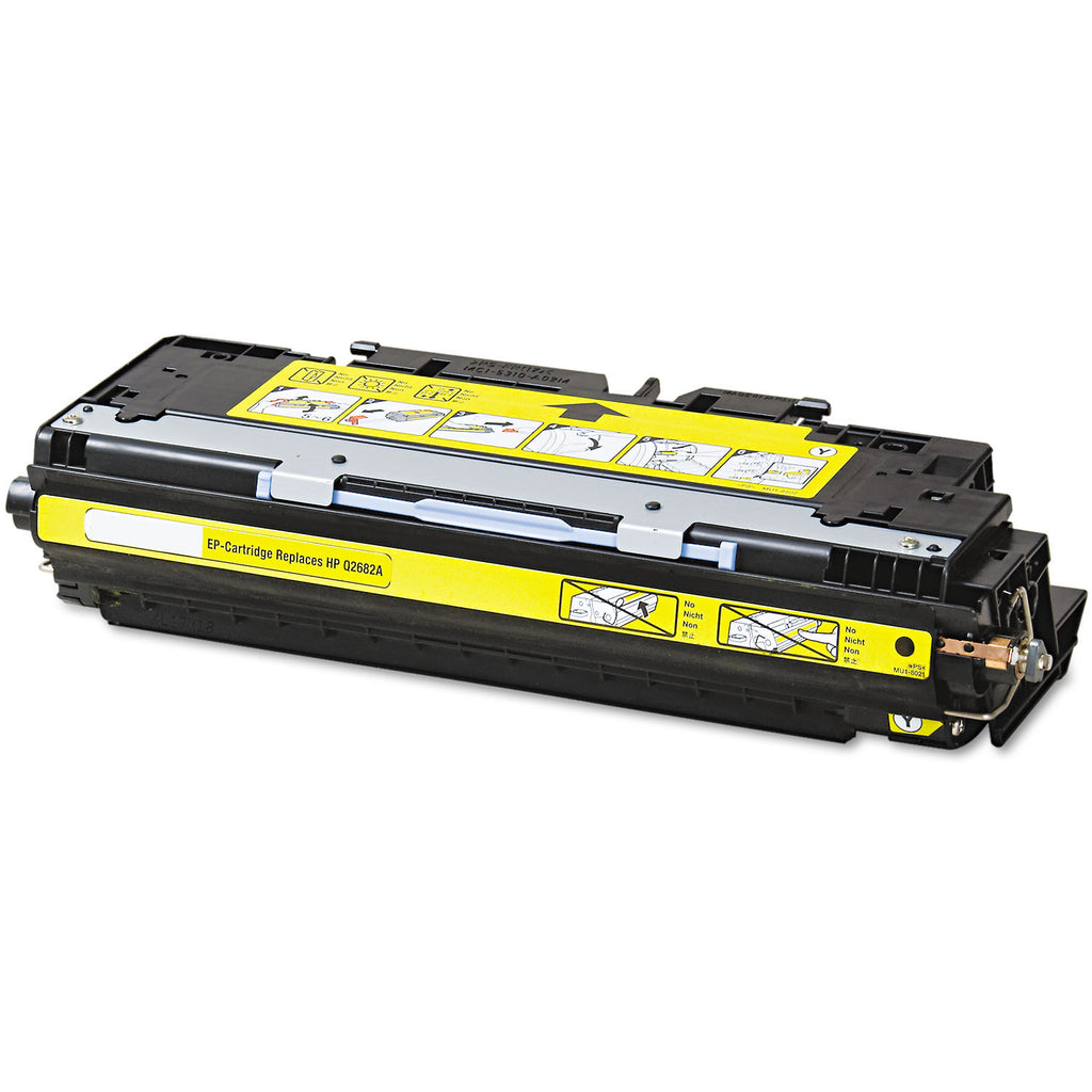 Compatible HP Q2682A, 311A Toner Cartridge For Color LaserJet 3700 Yellow - 6K