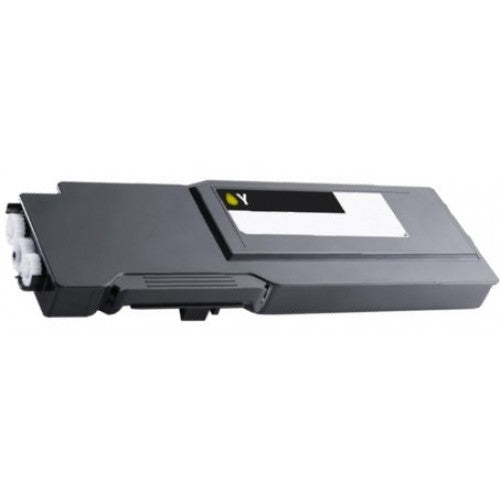 Compatible Dell 331-8430, F8N91 Toner Cartridge For C3760 Yellow - 9K