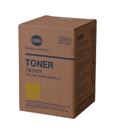 Konica Minolta 4053-501, TN310Y OEM Toner Cartridge For Bizhub C350 Yellow - 11.5K