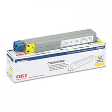 Okidata 42918901 OEM Toner Cartridge For C9600 Yellow - 15K