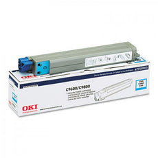 Okidata 42918903 OEM Toner Cartridge For C9600 Cyan - 15K