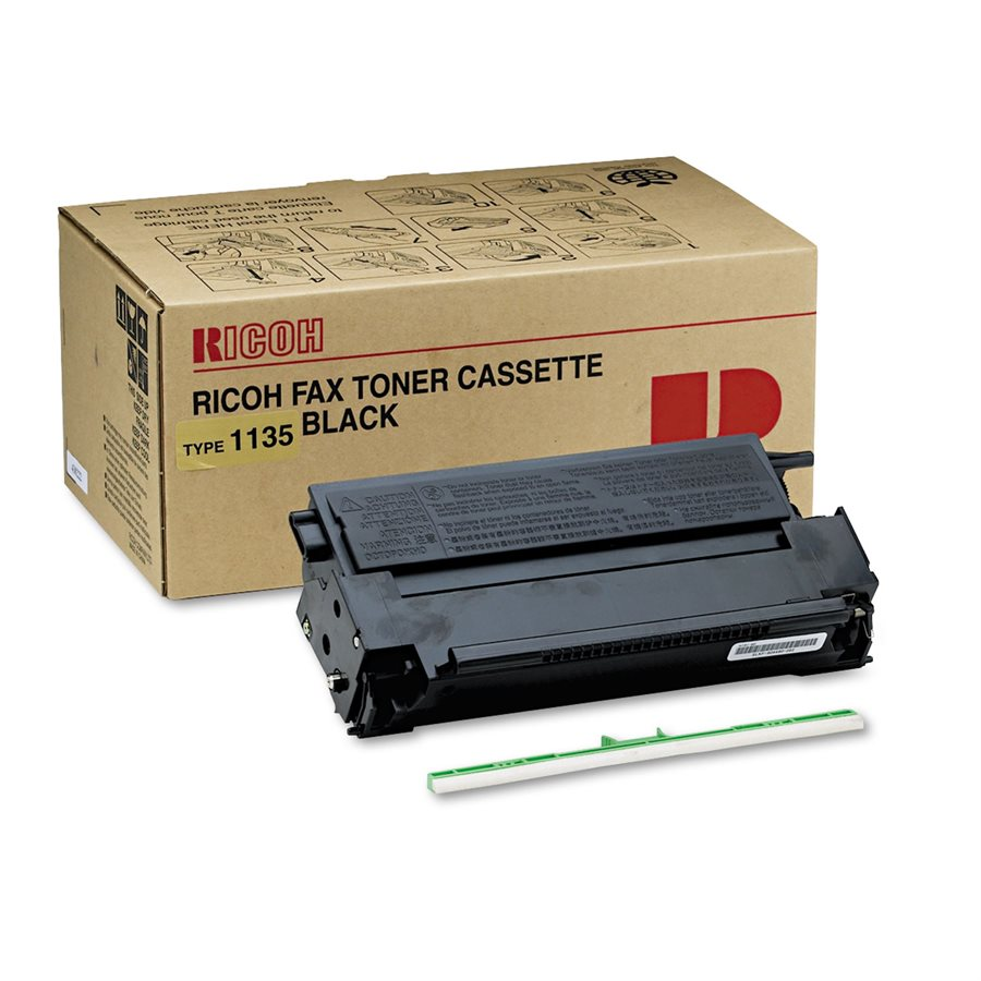 Ricoh 491-0316, 430222 OEM Toner Cartridge - Type 1135 - Black - 4.5K