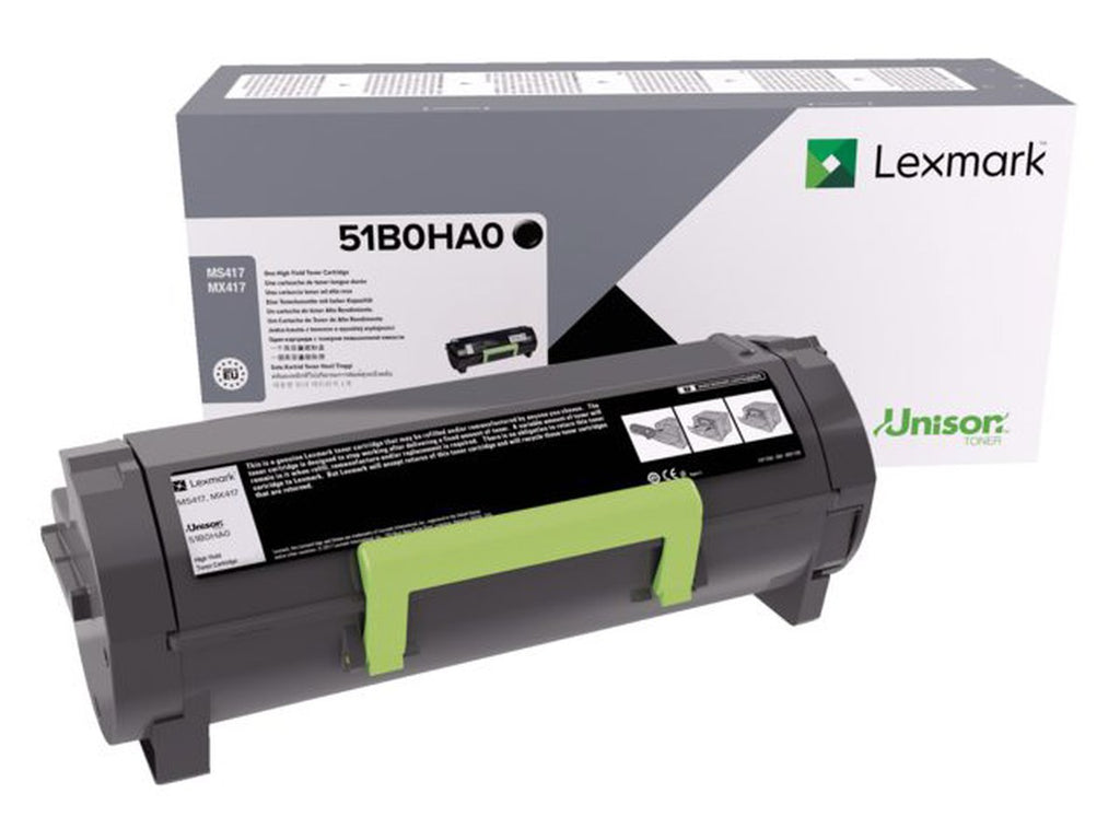 Lexmark Unison Genuine 51B0HA0 Toner Cartridge For MS417, MX417 - 8.5K