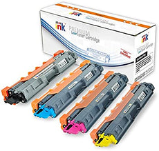 StarInk Compatible Brother TN-221/TN-225 Toner Cartridges - Black, Cyan, Magenta, Yellow - Value Pack