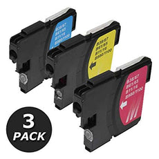 Compatible Brother LC613PKS Ink Cartridge (Cyan, Magenta, Yellow) - 325 Pages