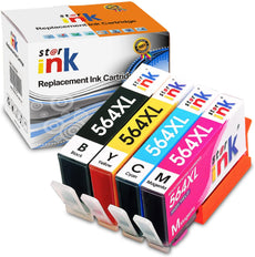 StarInk Compatible HP 564XL Ink Cartridges Black, Cyan, Yellow, Magenta 4 Pack