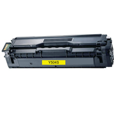 Compatible Samsung CLT-Y504S Toner Cartridge - Yellow - 1800 Pages