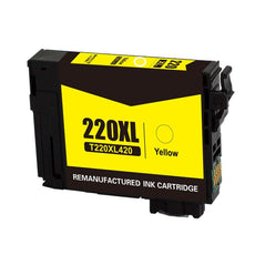 Compatible Epson T220XL420 Ink Cartridge For WorkForce WF-2630 Yellow - 500