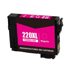 Compatible Epson T220XL320 Ink Cartridge For WorkForce WF-2630 Magenta - 500