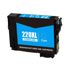 Compatible Epson T220XL220 Ink Cartridge For WorkForce WF-2630 Cyan - 500