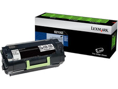 OEM Lexmark 62D1X0E, 621X Toner Cartridge Black Extra High Yield - 45K