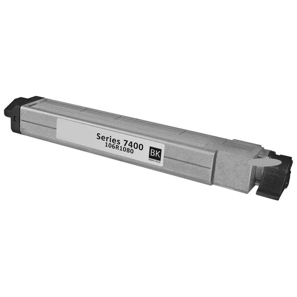 Compatible Xerox 106R01080 Toner Cartridge For Phaser 7400 Black - 15K