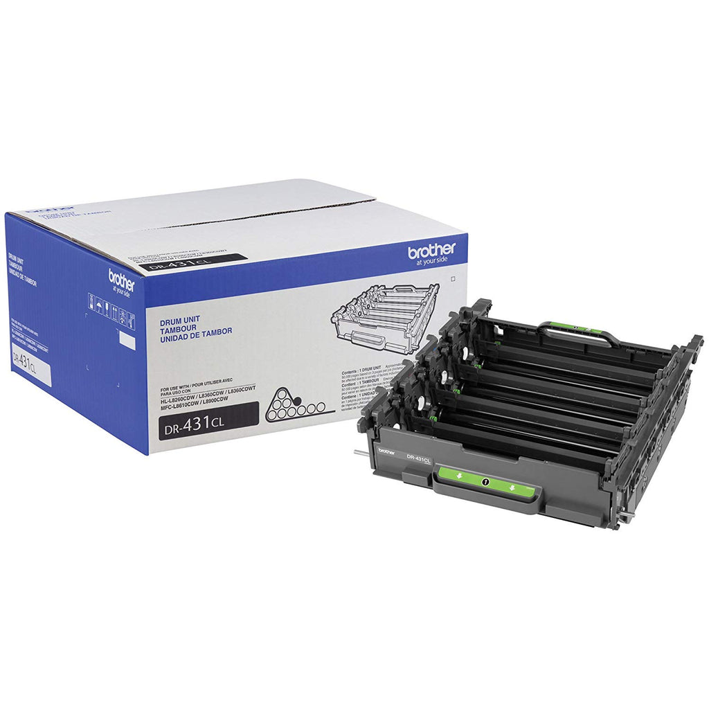 OEM Brother DR431CL Genuine Drum Unit - 50,000 Pages