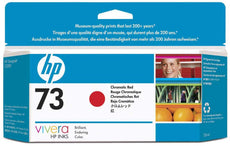 Original HP 73, CD951A DesignJet Ink Cartridge - Chromatic Red - 130ml