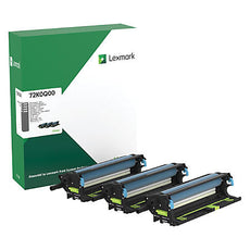 Lexmark 72K0Q00 OEM Photoconductor 3 Pack (3 X 175,000 Yield)
