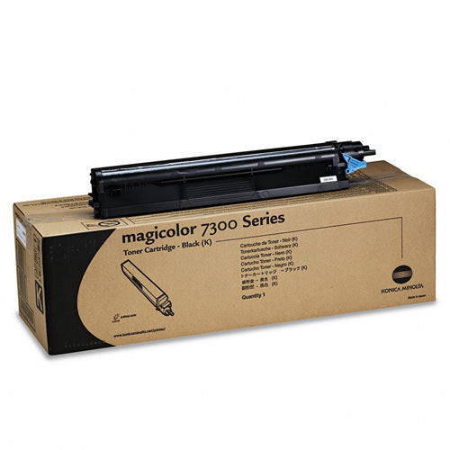 Konica Minolta 1710530-001 OEM Toner Cartridge For MagiColor 7300 Black - 7.5K